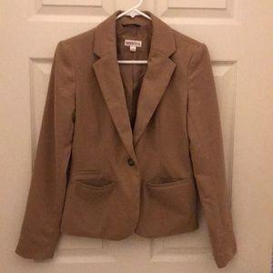 Merona blazer•camel•size 2•EUC•business or casual